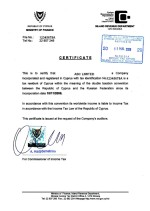 Cyprus_tax-certificate Page: 1