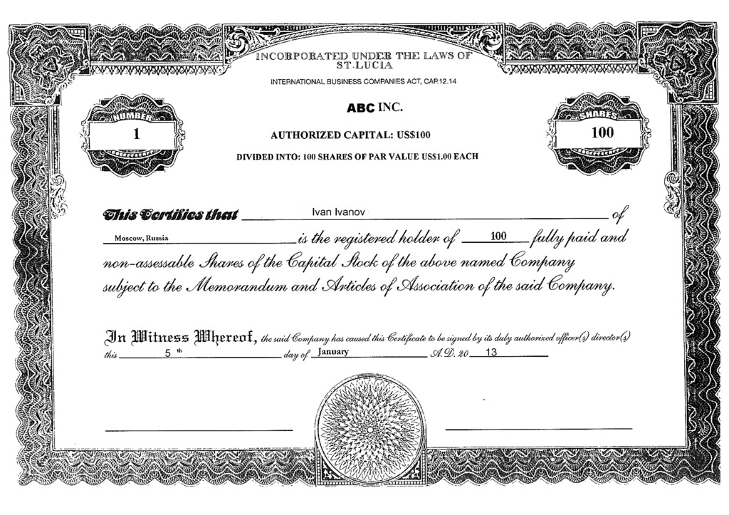 Share and stock certificate template shefftunes share and stock certificate template yelopaper Gallery