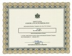 St. Lucia_ Certificate of Incorporation Page: 1