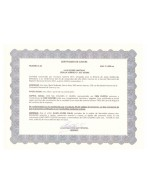 Costa Rica_Stock Certificate 2 Page: 1