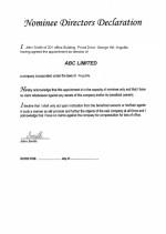 Anguilla_Nominee-Director's-Declaration Page: 1