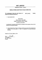 Anguilla_Resolution-effecting-the-issuing-the-Power-of-Attorney Page: 1