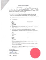 Anguilla_Certificate of Incumbency Page: 1