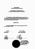 Bahamas_Apostilled-Appointment-of-first-director Page 2 Shot
