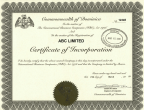 Dominica_Apostilled-Certificate-of-Incorporation Page 1 Shot