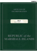Marshall Islands_Articles of Incorporation_with apostille Page 1 Shot