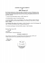 USA_DE_LLC_incumbency Page 1 Shot