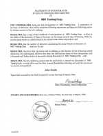 USA_Statement-of-Incorporator-in-Lieu-of-Organization-Meeting Page 1 Shot