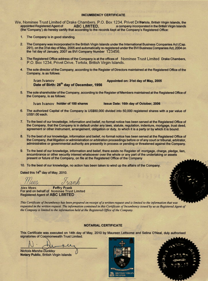 certificate of incumbency template free - certificate of incumbency uk template images certificate