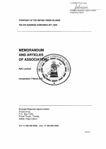 BVI_Memorandum-and-Articles-of-Association Page 1 Shot
