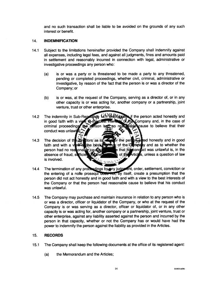 Poland articles of association pdf