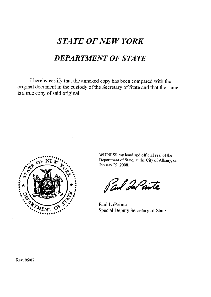 certificate of incorporation how to get a copy