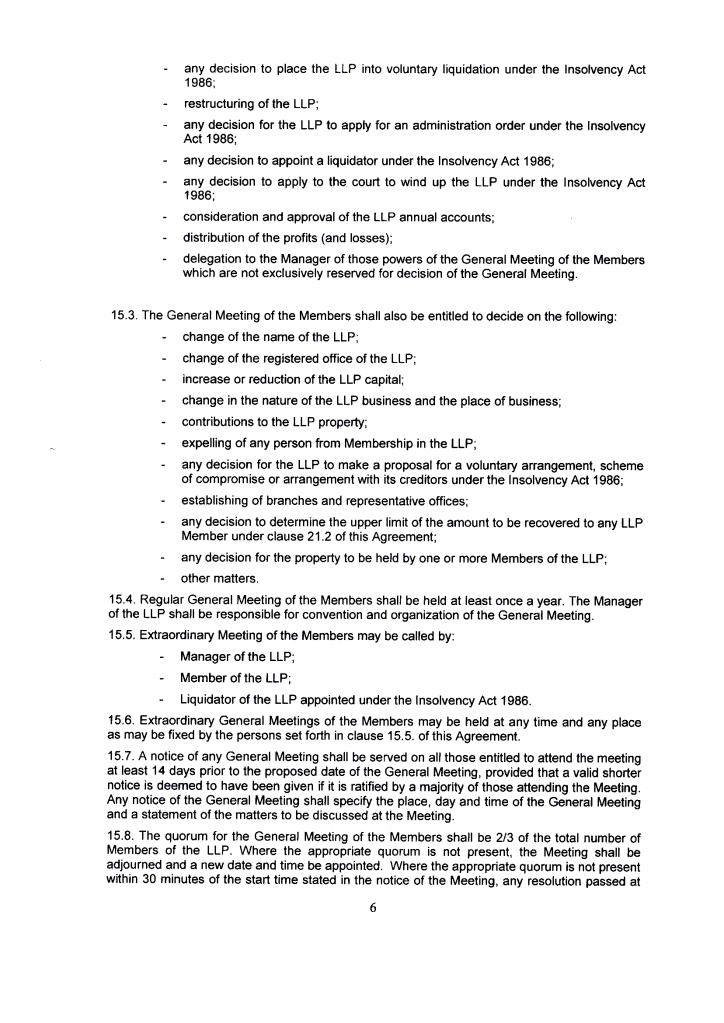 United Kingdom LLP Fshore Zones