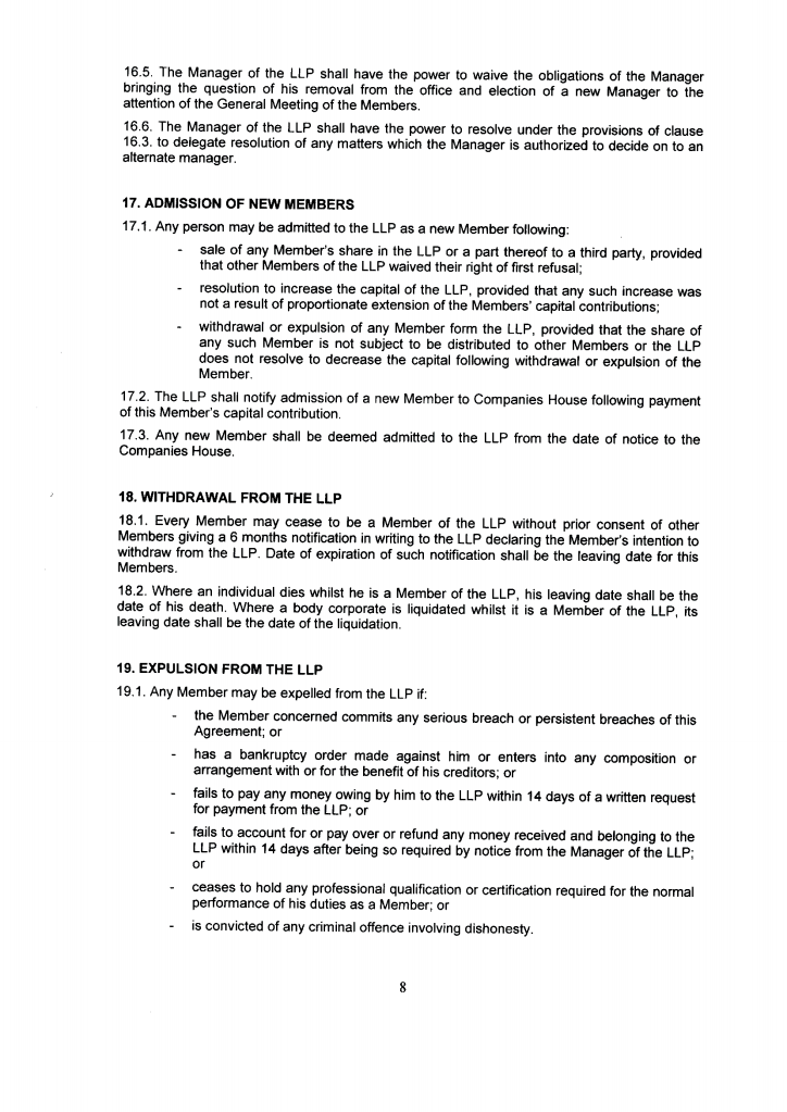 Llp Partnership Agreement 12 Thoughts You Have As Llp
