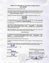 Panama_Apostilled Minutes of the meeting of the board of the directors.pdf Page: 1