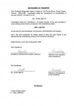 Ireland_Instrument of transfer.pdf Page: 1