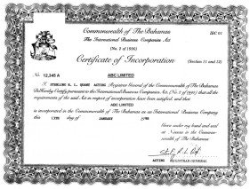 Bahamas_certificate of incorporation.pdf Page: 1