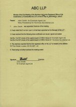 United Kingdom_Minutes of the First Meeting of the Members.pdf Page: 1