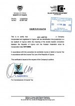 Cyprus_tax certificate.pdf Page: 1