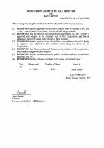 BVI_Resolution of first shares allotment.pdf Page: 1