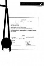 New Zealand_Apostille of the bound set of copies of constitutive documents.pdf Page: 1