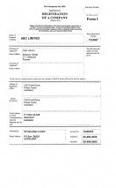 New Zealand_Application for registration of a company (Form 1).pdf Page: 1