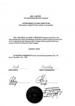 Bahamas_Apostilled Appointment of first director.pdf Page: 2