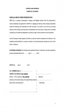 IBC Power of Attorney Page: 1
