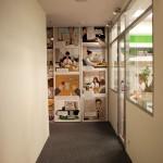 Шкаф с кадрами из презентационного мультфильма