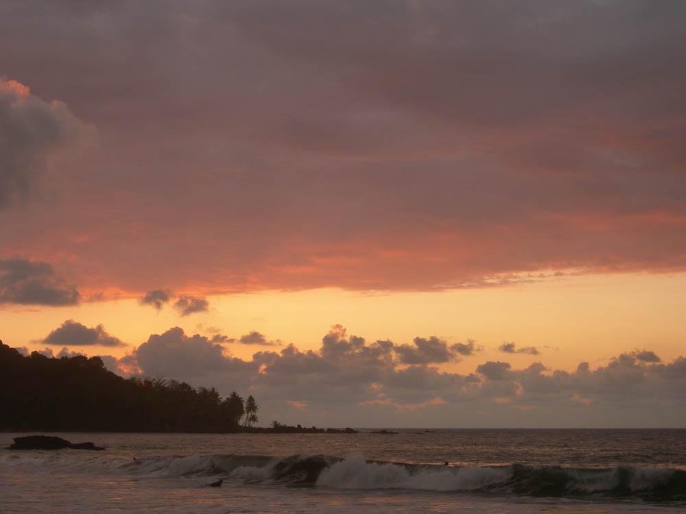 Закат на Тамариндо, Коста-Рика