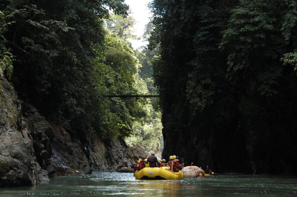 Рафтинг на Коста-Рике