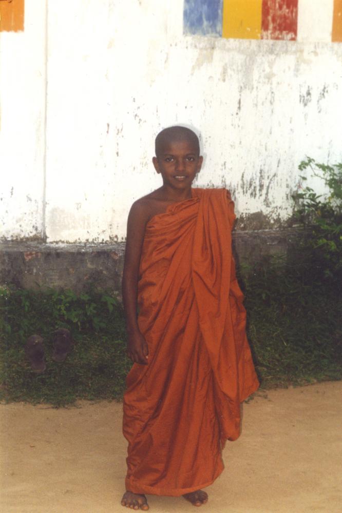 Буддийский монах, Цейлон