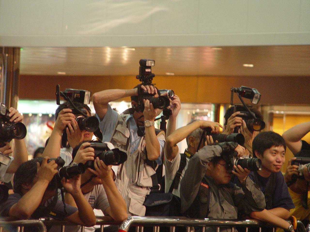 Гонконгские папарацци