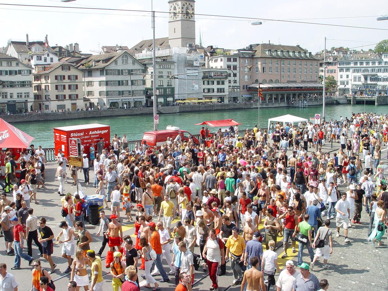 Street Parade, Цюрих