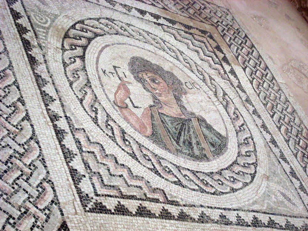 Мозаика в Курионе, Кипр