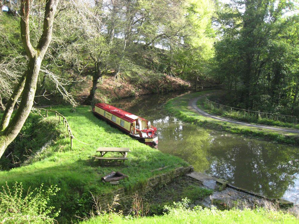 Уэльс, прогулка на long-boat
