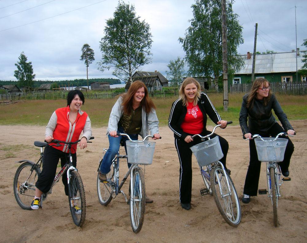 Велопрогулка в Карелии