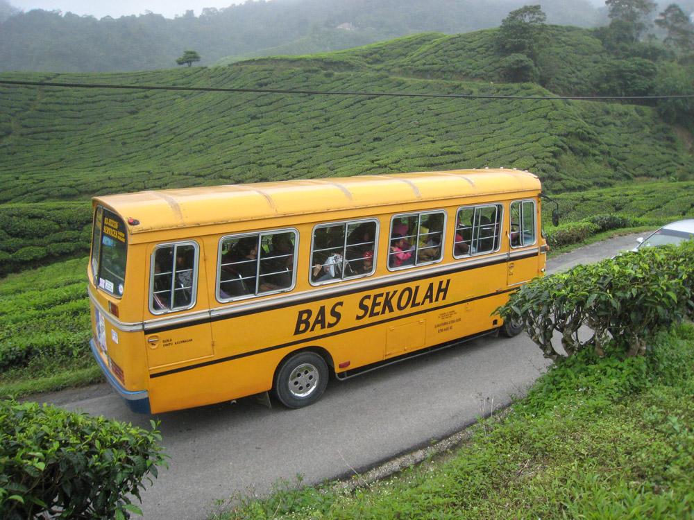 Малайзия, школьный автобус