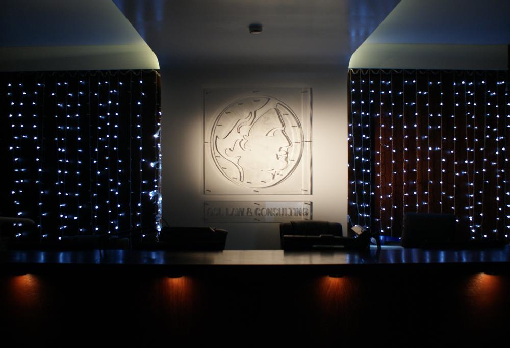 Ресепшн GSL – первое, что видят клиенты и посетители.