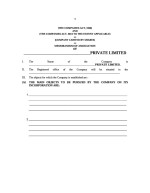 India_Memorandum of Association Page: 1