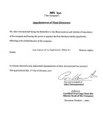 St. Lucia _ Appointment of First Directors Page: 1