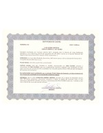 Costa Rica_Stock Certificate 1 Page: 1