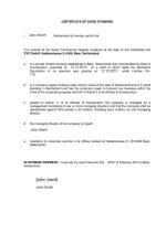 Switzerland_Certificate of Good Standing Page: 1