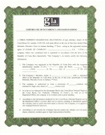 Costa Rica_Certificate of incumbency and good standing Page: 1