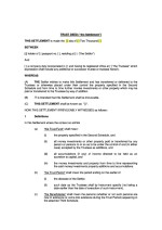 Cyprus Trust Deed Page: 1