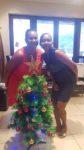 Новогодний привет от представителей GSL на Сейшелах
