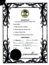 Belize_Apostille of the bound set of copies of constitutive documents.pdf Page: 1