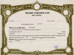 Hong Kong_Share Certificates.pdf Page: 1