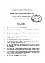 Dominica_Memorandum and Articles of Association.pdf Page: 2