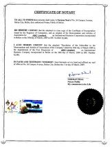 Belize_Apostille of the bound set of copies of constitutive documents.pdf Page: 2